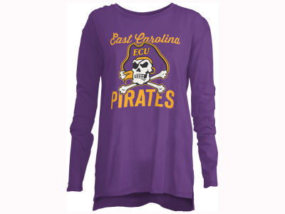 East Carolina Pirates Pressbox NCAA Women's Noelle Long Sleeve T-Shirt