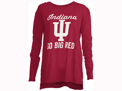Indiana Hoosiers Pressbox NCAA Women's Noelle Long Sleeve T-Shirt