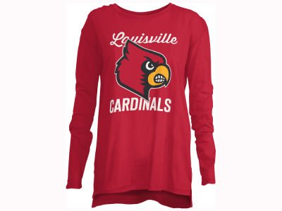 Louisville Cardinals Pressbox NCAA Women's Noelle Long Sleeve T-Shirt