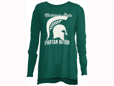 Michigan State Spartans Pressbox NCAA Women's Noelle Long Sleeve T-Shirt