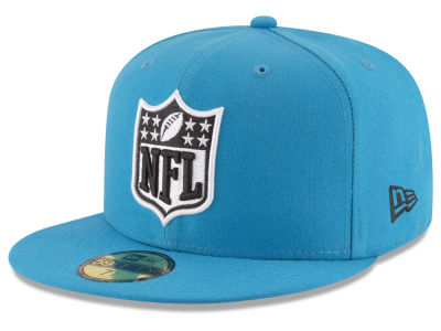 Carolina Panthers New Era NFL Team Shield 59FIFTY Cap
