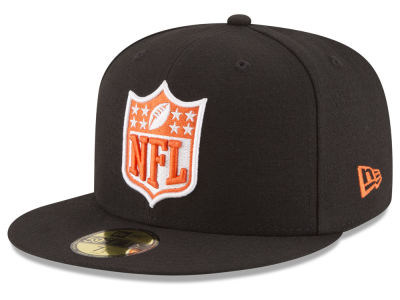 Cincinnati Bengals New Era NFL Team Shield 59FIFTY Cap