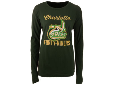 Charlotte 49ers Pressbox NCAA Women's Noelle Long Sleeve T-Shirt