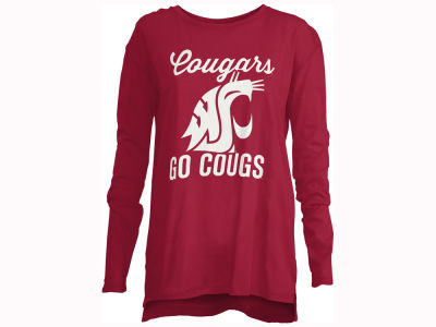 Washington State Cougars NCAA Women's Noelle Long Sleeve T-Shirt