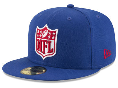 New York Giants New Era NFL Team Shield 59FIFTY Cap
