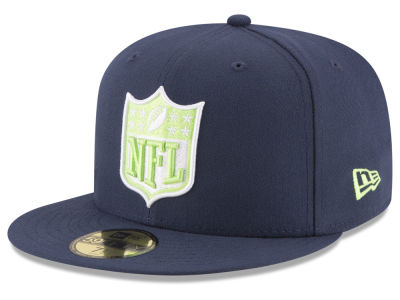 Seattle Seahawks New Era NFL Team Shield 59FIFTY Cap