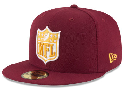 Washington Redskins New Era NFL Team Shield 59FIFTY Cap
