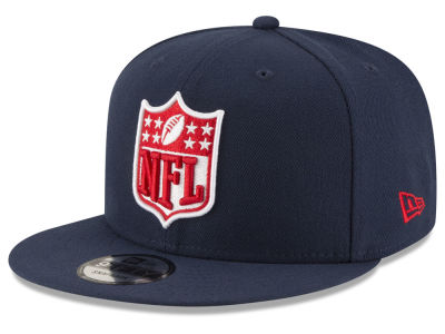 New England Patriots New Era NFL Team Shield 9FIFTY Snapback Cap