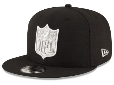 Oakland Raiders New Era NFL Team Shield 9FIFTY Snapback Cap