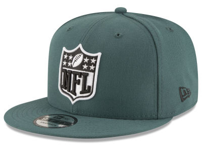 Philadelphia Eagles New Era NFL Team Shield 9FIFTY Snapback Cap