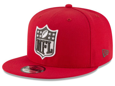 Tampa Bay Buccaneers New Era NFL Team Shield 9FIFTY Snapback Cap
