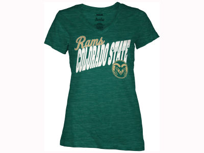 Colorado State Rams Pressbox NCAA Women's Gander T-Shirt