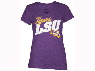 LSU Tigers Pressbox NCAA Women's Gander T-Shirt