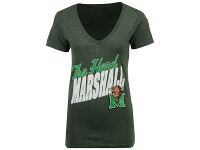 Marshall Thundering Herd Pressbox NCAA Women's Gander T-Shirt