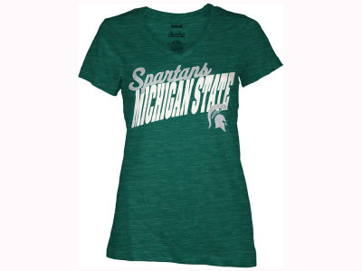 Michigan State Spartans Pressbox NCAA Women's Gander T-Shirt