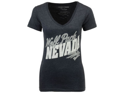 Nevada Wolf Pack Pressbox NCAA Women's Gander T-Shirt