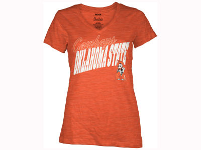 Oklahoma State Cowboys Pressbox NCAA Women's Gander T-Shirt