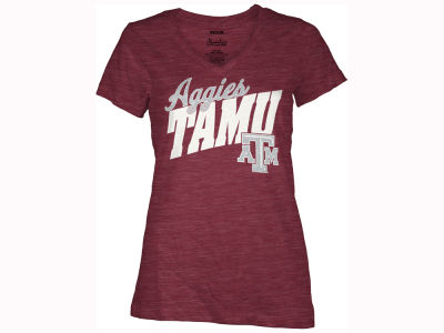 Texas A&M Aggies Pressbox NCAA Women's Gander T-Shirt