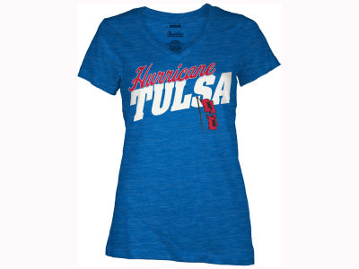 Tulsa Golden Hurricane Pressbox NCAA Women's Gander T-Shirt