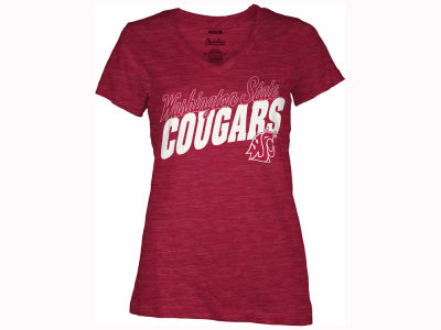 Washington State Cougars Pressbox NCAA Women's Gander T-Shirt