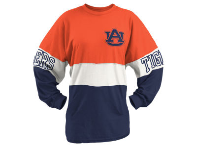 Auburn Tigers Pressbox NCAA Women's Clarity Sweeper T-Shirt