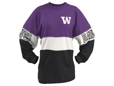 Washington Huskies Pressbox NCAA Women's Clarity Sweeper T-Shirt