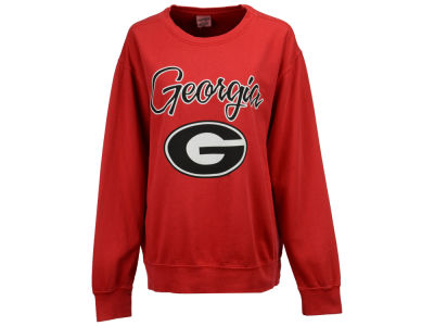 Georgia Bulldogs Pressbox NCAA Women's Pigment Dye Fleece