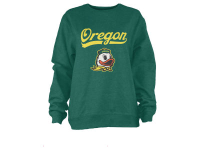 Oregon Ducks Pressbox NCAA Women's Pigment Dye Fleece