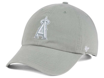 Los Angeles Angels '47 MLB Gray White '47 CLEAN UP Cap