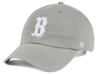 Boston Red Sox '47 MLB Gray White '47 CLEAN UP Cap