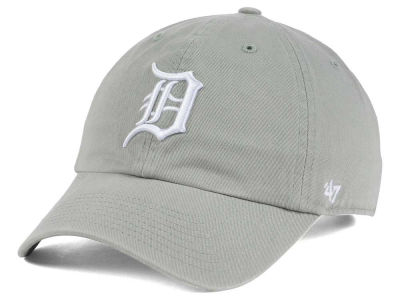 Detroit Tigers '47 MLB Gray White '47 CLEAN UP Cap