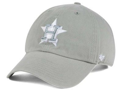 Houston Astros '47 MLB Gray White '47 CLEAN UP Cap