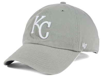 Kansas City Royals '47 MLB Gray White '47 CLEAN UP Cap