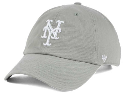 New York Mets '47 MLB Gray White '47 CLEAN UP Cap