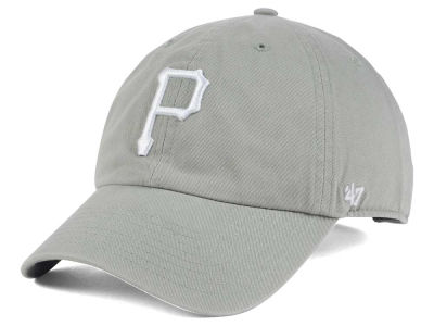 Pittsburgh Pirates '47 MLB Gray White '47 CLEAN UP Cap