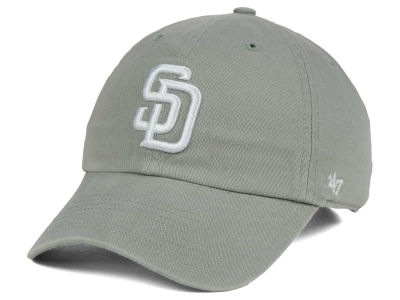 San Diego Padres '47 MLB Gray White '47 CLEAN UP Cap