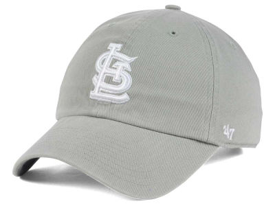 St. Louis Cardinals '47 MLB Gray White '47 CLEAN UP Cap
