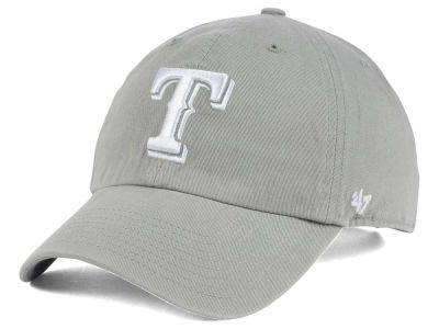 Texas Rangers '47 MLB Gray White '47 CLEAN UP Cap