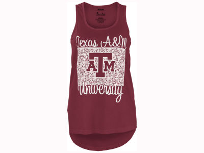 Texas A&M Aggies Pressbox NCAA Women's Marble Tank
