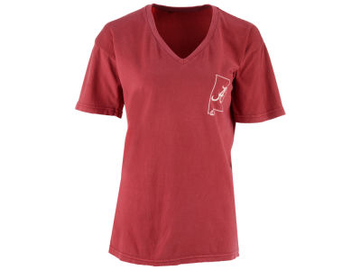 Alabama Crimson Tide Pressbox NCAA Women's Elly May Big T-Shirt
