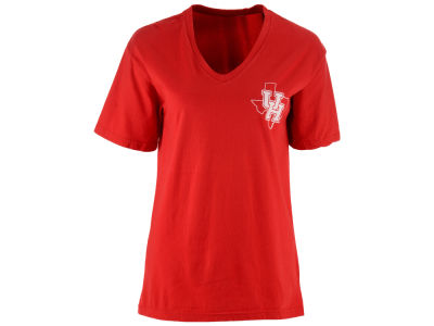 Houston Cougars Pressbox NCAA Women's Elly May Big T-Shirt