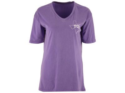 Texas Christian Horned Frogs Pressbox NCAA Women's Elly May Big T-Shirt