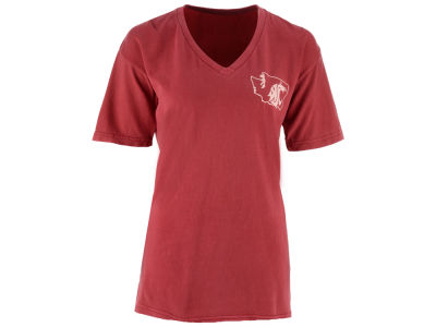 Washington State Cougars Pressbox NCAA Women's Elly May Big T-Shirt