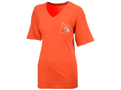 Oregon State Beavers Pressbox NCAA Women's Elly May Big T-Shirt