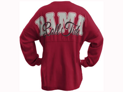 Alabama Crimson Tide Pressbox NCAA Women's Seer Sweeper Long Sleeve T-Shirt