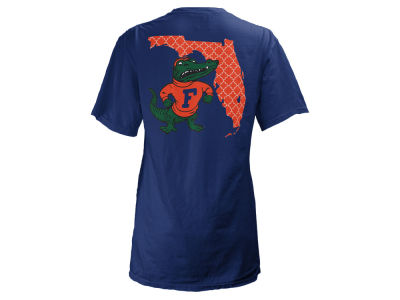 Florida Gators Pressbox NCAA Women's Quatre Logo Big T-Shirt