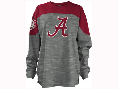 Alabama Crimson Tide Pressbox NCAA Women's Cannon Big Long Sleeve Shirt