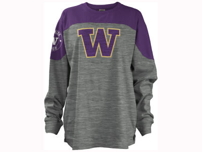 Washington Huskies Pressbox NCAA Women's Cannon Big Long Sleeve Shirt