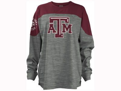 Texas A&M Aggies Pressbox NCAA Women's Cannon Big Long Sleeve Shirt