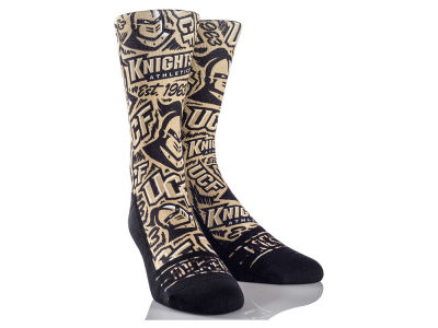 University of Central Florida Knights Logo Sketch Socks